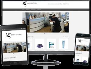Web Mg Centro de Estetica